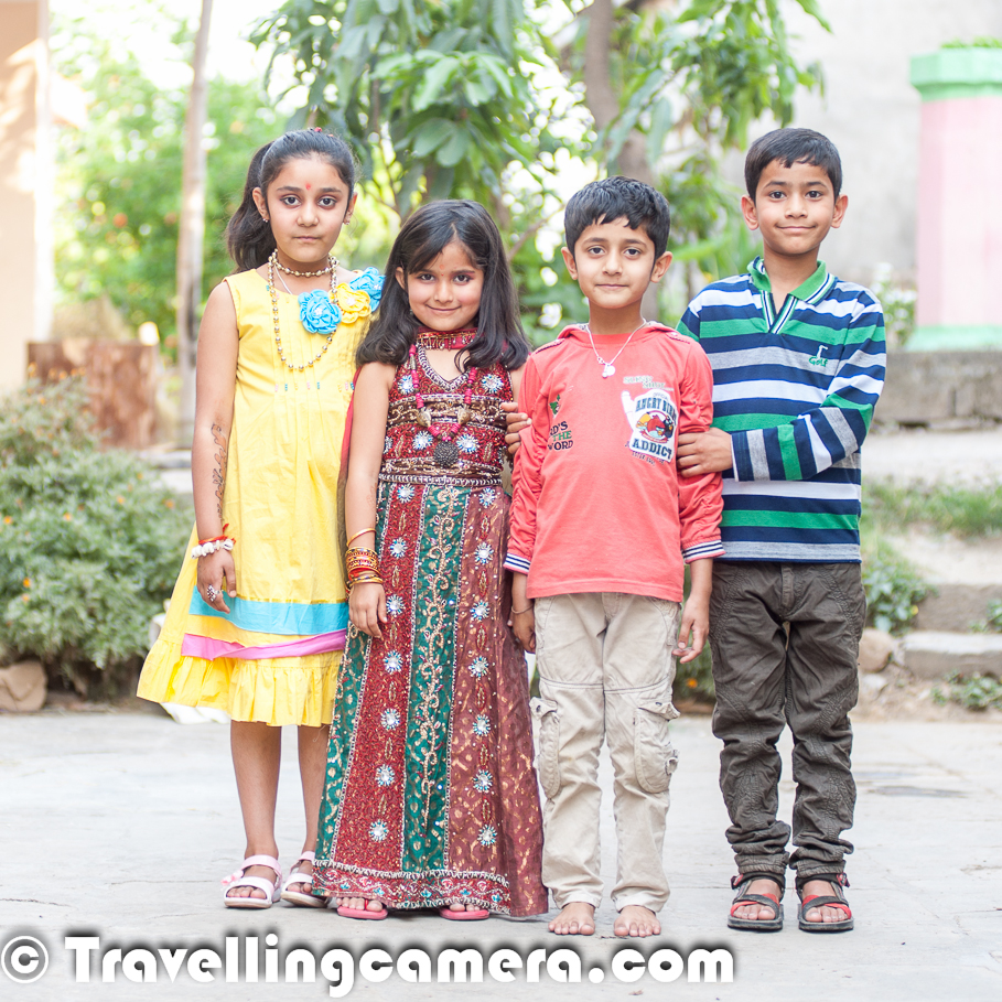 Fun Filled Photo-shoot With Kids In A Himachali Wedding