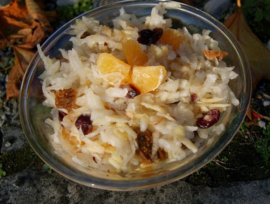 salatka z rzodkwi