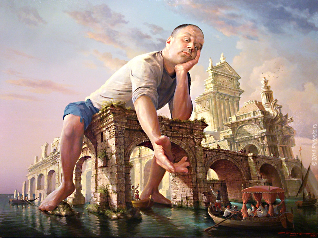 06-The-Inshore-Pilot-Stanislav-Plutenko-Surrealism-and-Futurism-in-Oil-Paintings-www-designstack-co