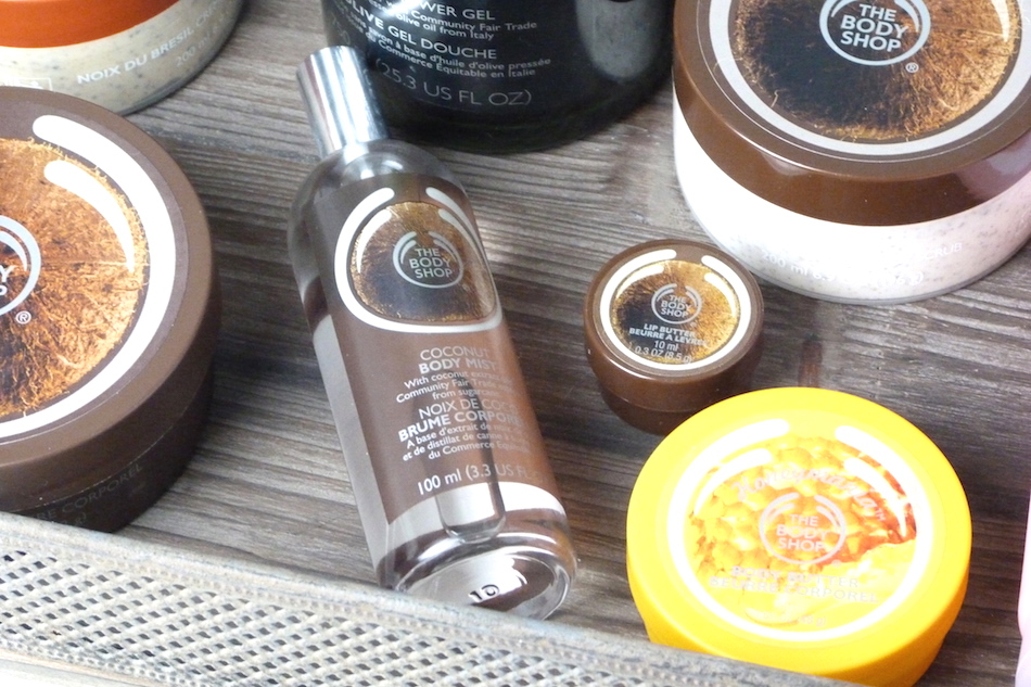 an image of the body shop summer haul