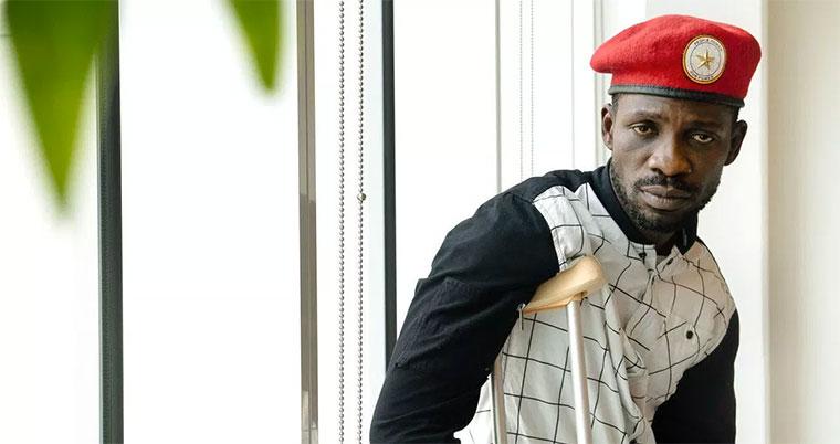 Bobi Wine Aanza Safari Kurudi Uganda Aipiga Stop Familia Yake Kwenda Kumpokea
