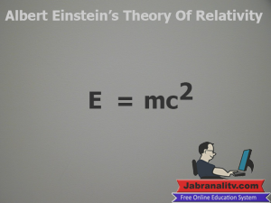 Top 10 Mathematical Equations That Changed The World Theory-Of-Relativity