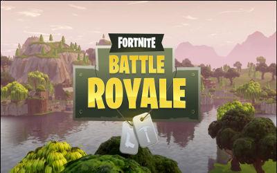 Fortnite Battle Royale Titre - Fond d'écran en Full HD 1080p