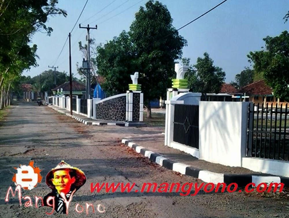 Gerbang dan Gapura Desa Margahayu dilihat dari jalan sebelah utara. Poto jepretan Kang Nugraha Aye-Aye, Facebooker Subang ( FBS )