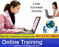 Open Online Training Komputer / Private Jarak Jauh