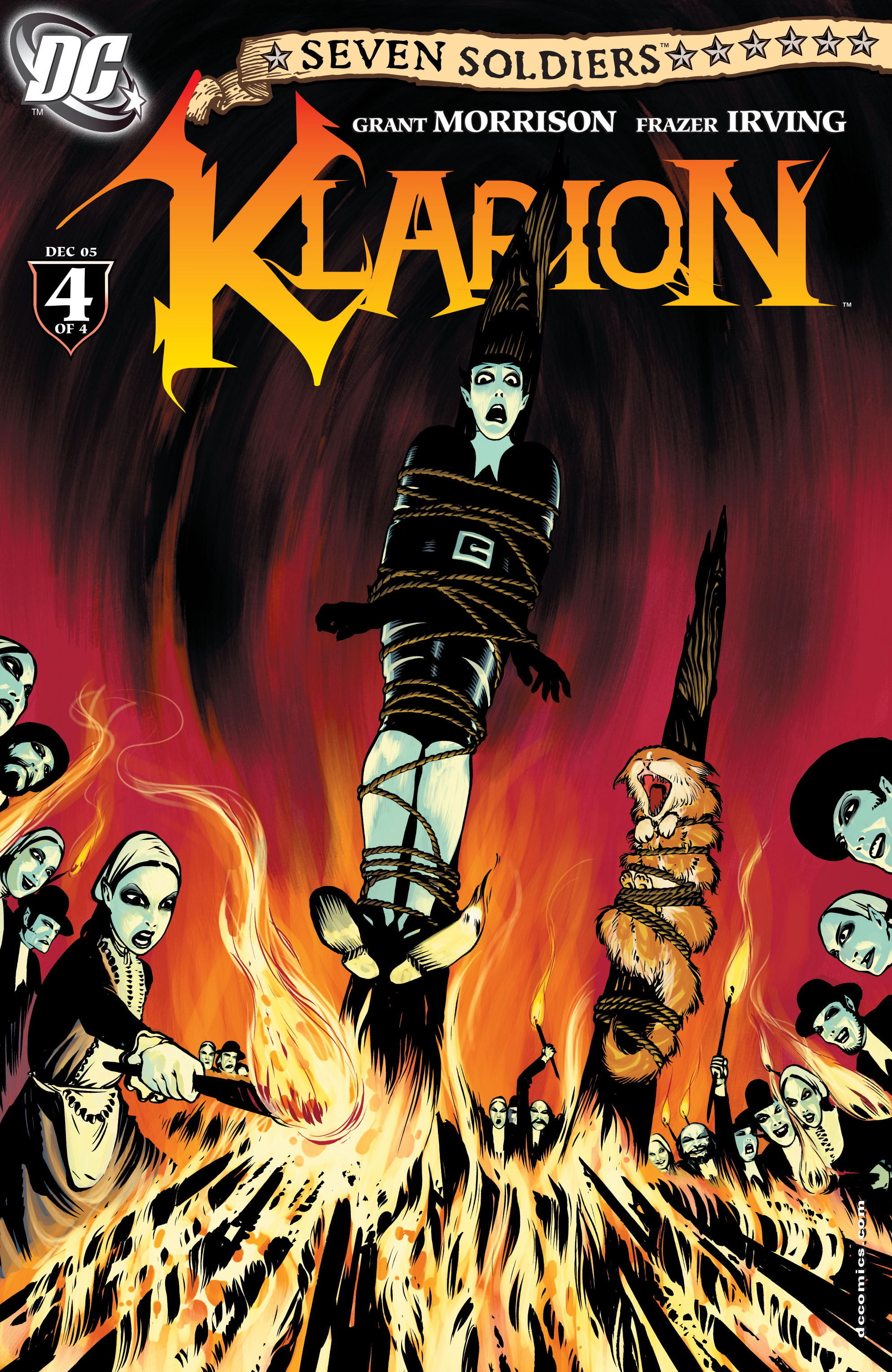 Read online Seven Soldiers: Klarion the Witch Boy comic -  Issue #4 - 1