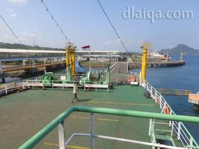 meninggalkan Pelabuhan Bakauheni