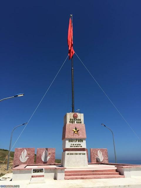 Cột cờ chủ quyền Đảo Lý Sơn - Hình 3