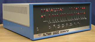 MITS Altair 8800 computer kit from 1975