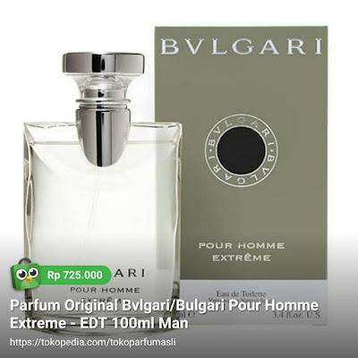 toko parfum asli parfum original bvlgari bulgari pour homme extreme edt 100ml man