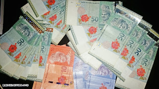malaysia rinngit MYR money bank notes