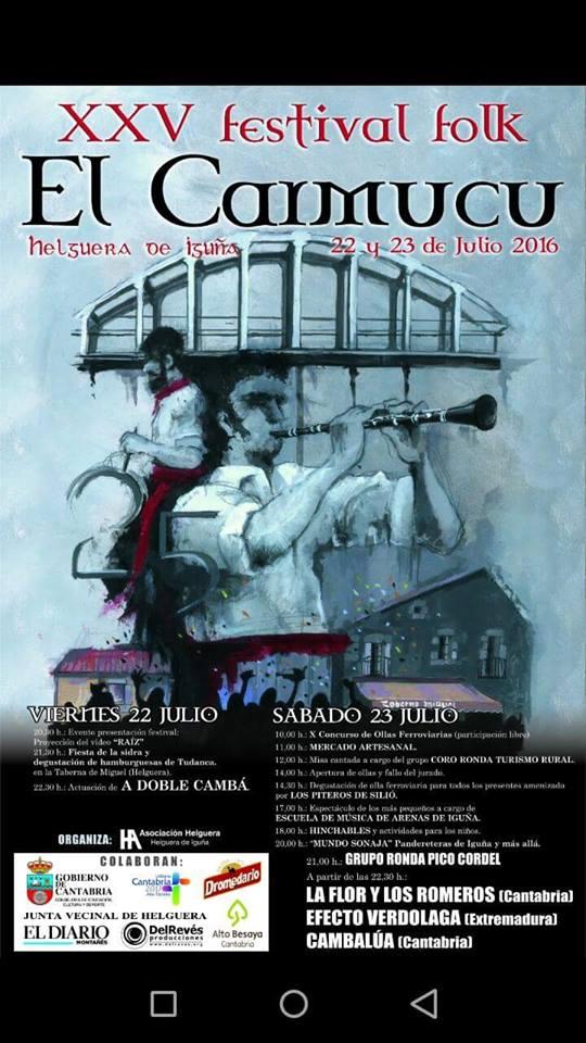 XXV FESTIVAL FOLK EL CARMUCU