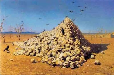 skull piramid timurid
