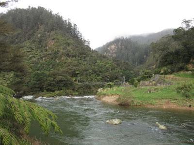 Garganta Karangahake y río Ohinemuri, Nueva Zelanda
