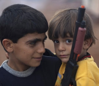 syrian displaced child