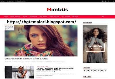 Nimbus Blogger Teması