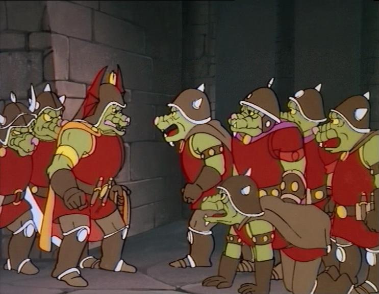 Resultado de imagem para orc dungeons and dragons cartoon