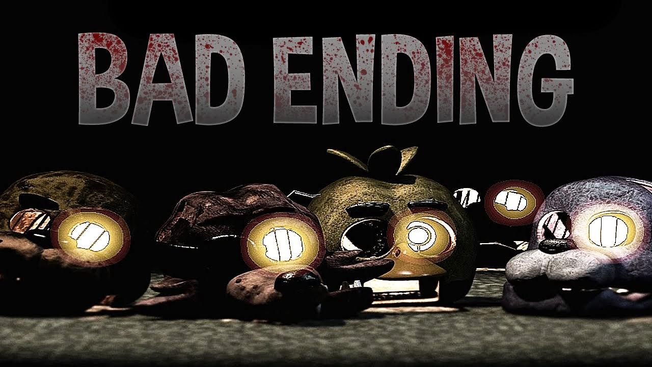 Bad Ending FNAF 3