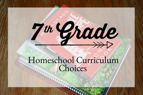 7th Grade Curriculum Choices for 2018-2019 #homeschool #curriculum