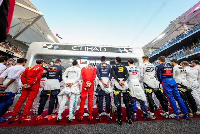 F1 2020 calendar