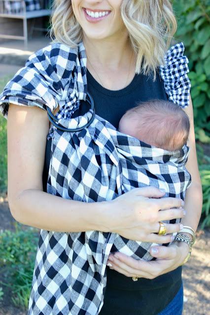 Newborn Essentials Review- Wildbird sling carrier