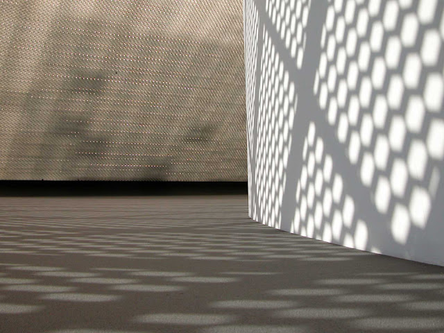 "O interior do ""Olho"", anexo do Museu Oscar Niemeyer - MON"