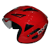 KYT Skorpion King Fire Red Solid Glossy - RP 330,000