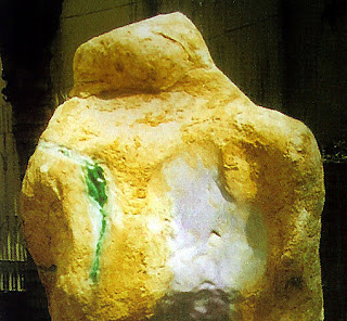 raw jade rock