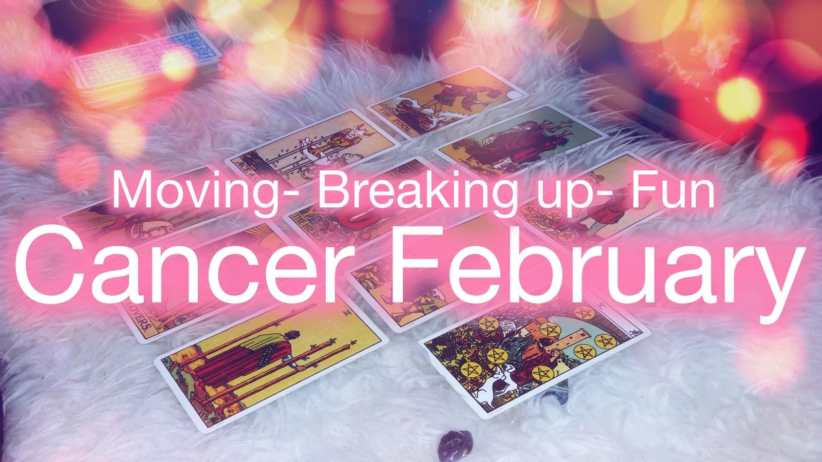 cancer love tarot february
