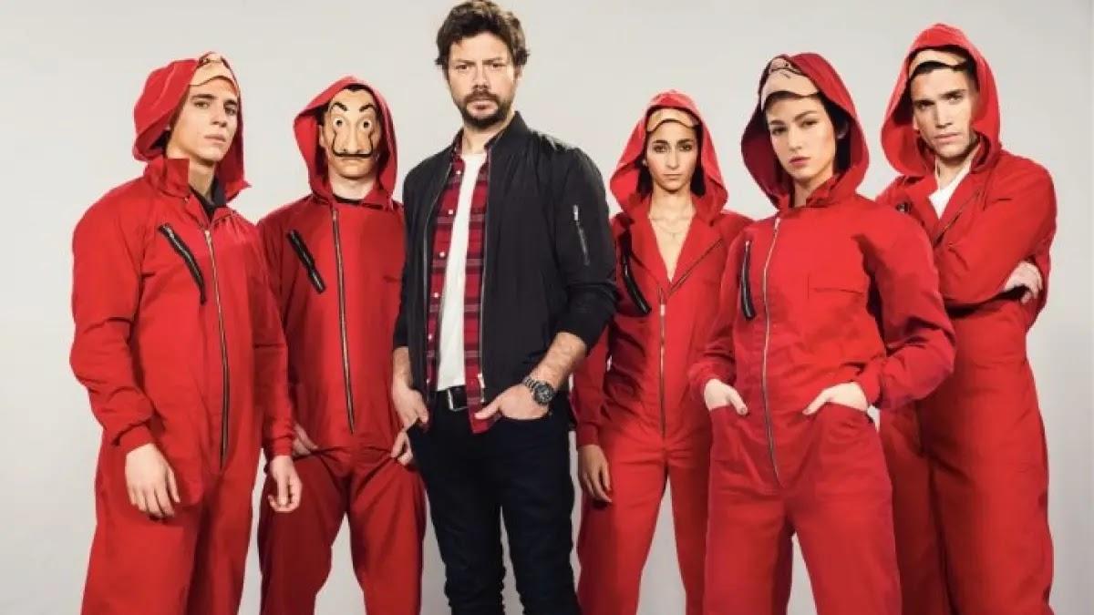 Iniciado as filmagens de Sky Rojo, a nova série do mesmo criador de La Casa de Papel
