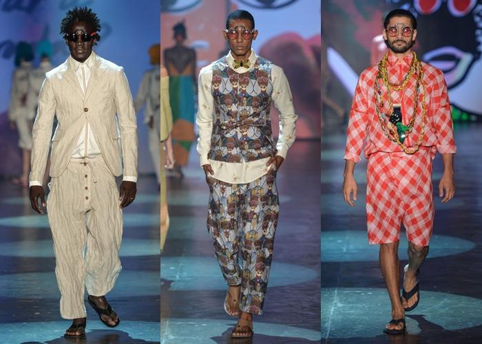 5f6717c670a5f ... Ronaldo Fraga surpreendeu o São Paulo Fashion Week. Sua performance  respira cultura. Sua coleção teve como inspiração uma viagem feita pelo  estilista à ...