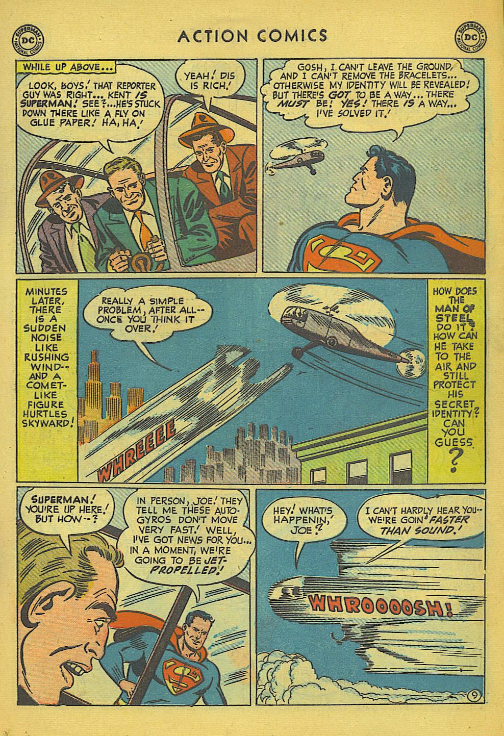 Action Comics (1938) 157 Page 9
