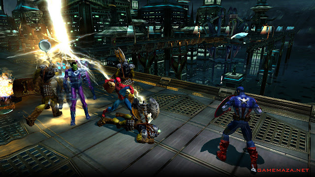 Marvel Ultimate Alliance 1 Gameplay Screenshot 5