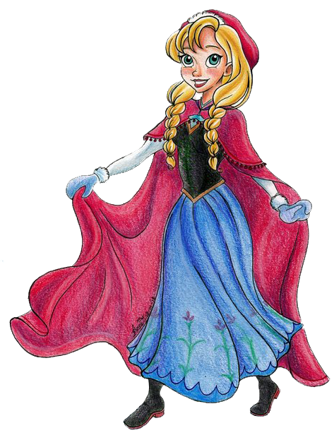 frozen ana clip art oh my fiesta in english
