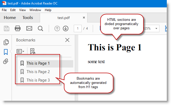 Outputting HTML Content to PDF in C# ~ Ocean Airdrop