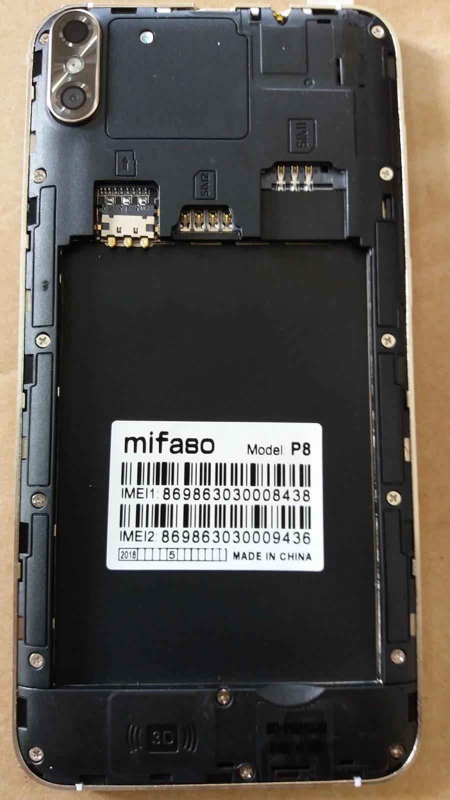 Mifaso P8 Flash File