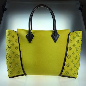 e4b880b717ad Yellow Louis Vuitton PM W Bag. Posted by Privé Porter ...