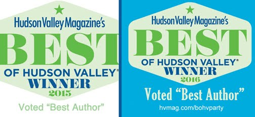 "Author & FiveSibesMom Dorothy Wills-Raftery is ""Best Author"" of the Hudson Valley!"