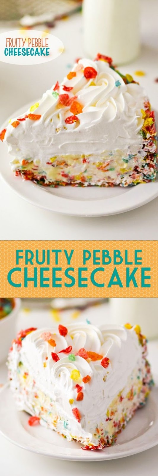 Fruity Pebble Cheesecake