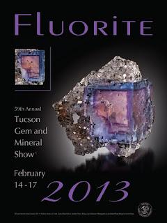 Feria de tucson poster oficial 2013 fluorita