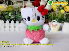 Souvenir Ulang Tahun Gantungan Kunci Boneka Hello Kitty
