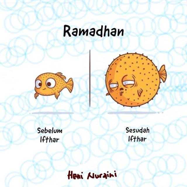 Meme Lucu Puasa Ramadhan 3