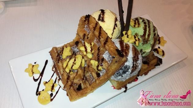 Sweet Hut : waffle