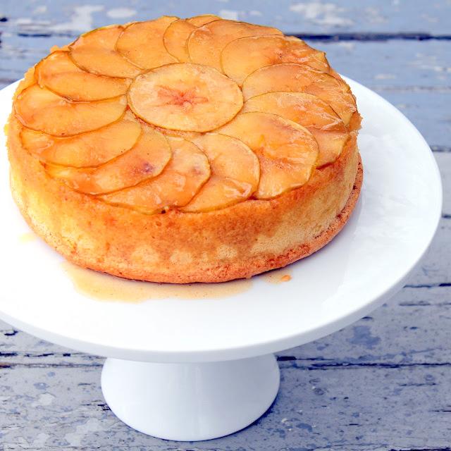apple cider upside down cake recipe