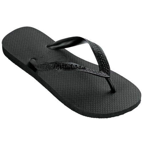 Nice Black Flip Flops