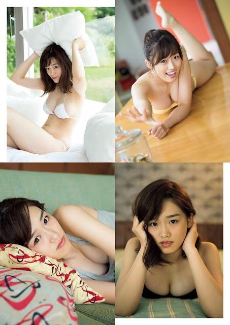 AKB48 Umeta Ayano 梅田綾乃 Weekly Playboy No 49 2017 Photos