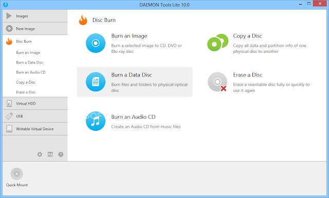 تحميل برنامج ديمون تولز 2016 Daemon Tools لتشغيل الالعاب وملفات الايزو