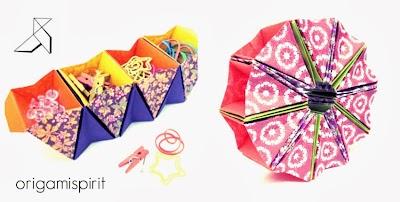 Como hacer una Caja Acordeon.Origami