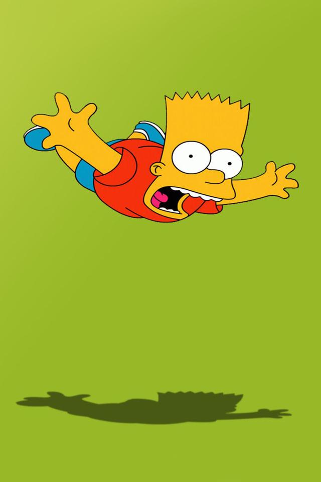 Fall Live Wallpaper Phone Latest Iphone Wallpapers Bart Simpson Skateboarding