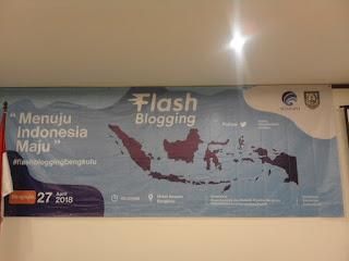 Keseruan Flash Blogging Bengkulu: Menjadi Blogger untuk Indonesia